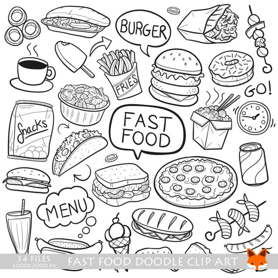 good quality food coloring pages - photo#9