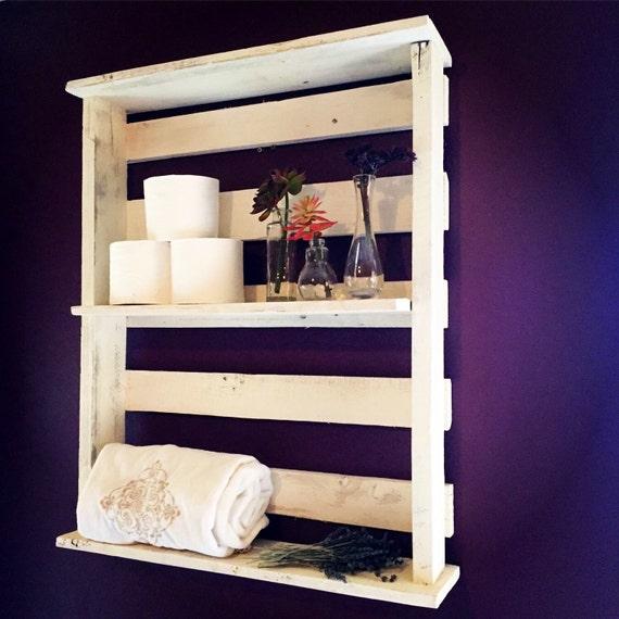 large shabby chic wall shelves by theharvesttrailjourn on etsy. Black Bedroom Furniture Sets. Home Design Ideas