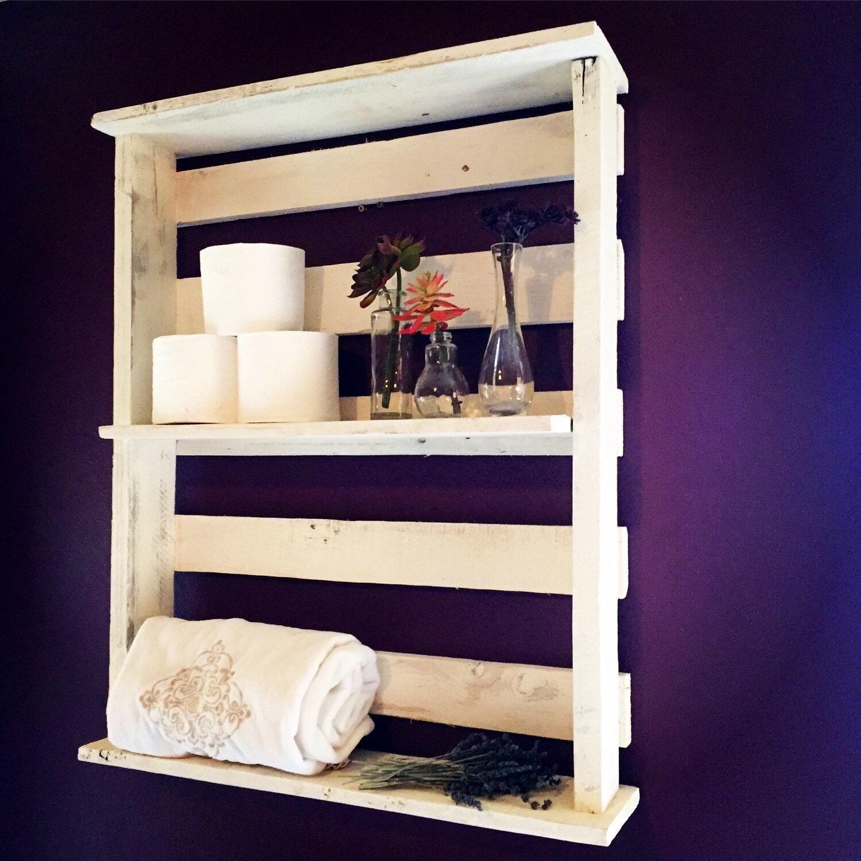 Shabby Chic Kitchen Shelves: LARGE Shabby Chic Wall Shelves By TheHarvestTrailJourn On Etsy