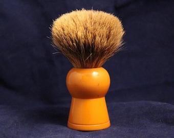 Vintage Simpsons Keyhole KH3 Butterscotch Best Badger Shaving Brush