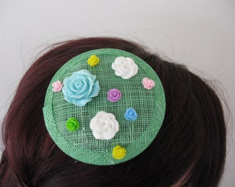 Spring Meadow Fascinator