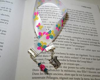 Squirrel crystal bookmark
