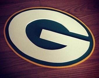 Green Bay Packers Inspired Wall Logo