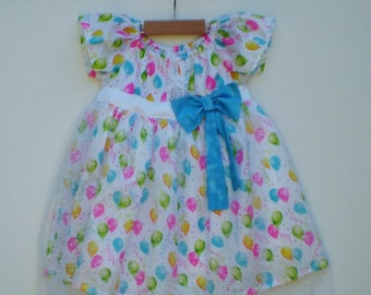 Girls party dress, Clothing for girls, size 1 year,  Tutu dress for girls,
