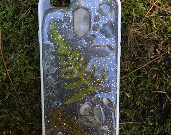 iPhone 6, 6s Crystal Case Quartz and Ferns