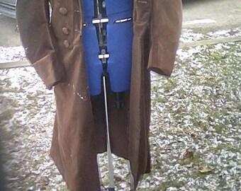 Fourth Doctor Chestnut Velvet Coat Replica