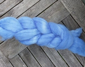 "Handdyed Llama roving ""The Sky is the Limit"""