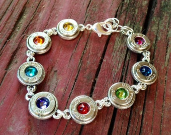 Colorful Bullet Bracelet