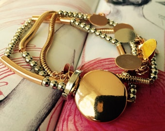 Gorgeous fashion bracelet- multilayered