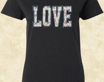 Love T Shirt Cheetah Print Workout Flawless Top Gym Tee T Shirt Shirt Tees Women T Shirt Ladies T Shirt
