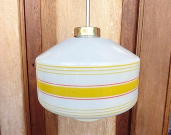 Lighting from 1970s. Vintage pendant light
