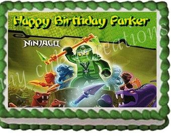 Ninjago Cake Topper Decoration
