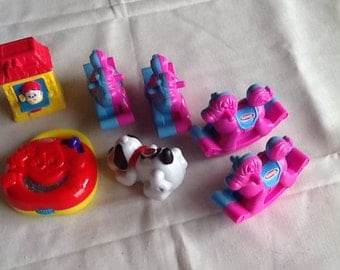 Play School toys from McDonalds