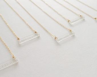 Motivation Collection 14k Gold Filled Necklace