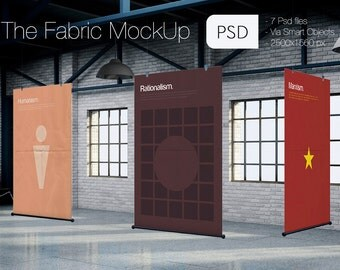 The Fabric Psd MockUp