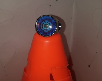 Blue Lantern Corps ring