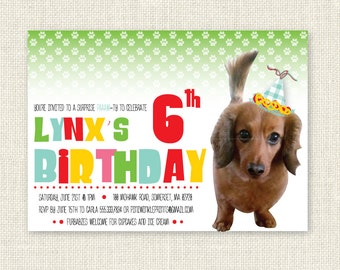 Pet / Dog / Cat Surprise Birthday Invitation, Digital Printable File