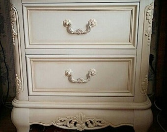 Shabby chic dresser with drawers HandPainted Chalk paint **SOLD**
