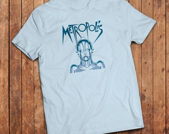 Metropolis movie inspired T-Shirt. Fritz Lang classic science fiction film