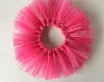 Hot pink tutu, first birthday, pink tutu, tulle tutu