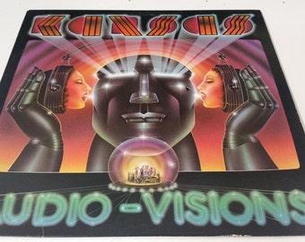 Kansas - Audio Visions - Vinyl Record Album.Kirshner 36588. Demonstration Record.