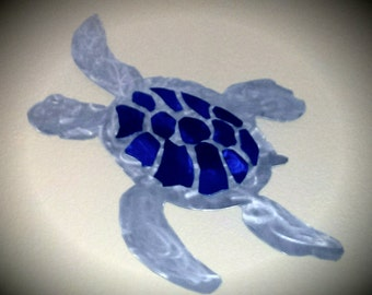 Sea turtle DXF file for your CNC plasma, laser or router