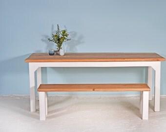 Set | Dining table KOLLWITZ & bench KOTTI