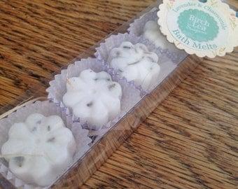 Bath melts, Lavender & Chamomile, shea butter bath melts