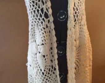 Amazing handmade vintage shawl