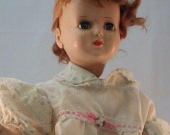 Vintage Wanda Walker Mechanical Doll