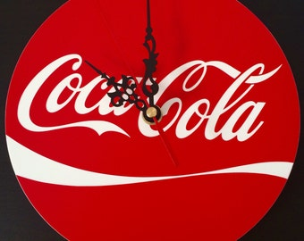 CocaCola clock handmade reproduction.