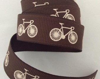 Bicycle Brown Ribbon