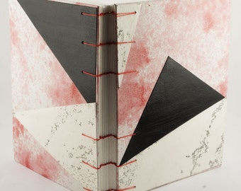 One of a kind artist made - Journal / Sketchbook - Once Bound Books