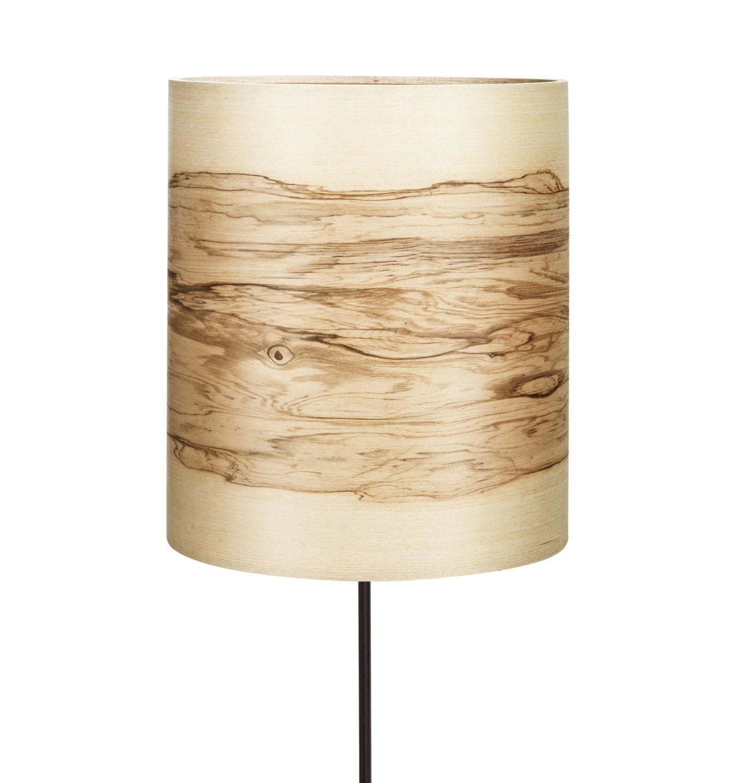 Modern Floor Lamp Wood Floor Lamp Natural By Sponndesign