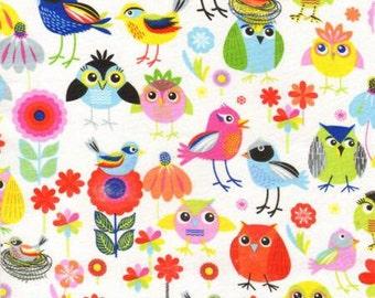 timeless treasure birds designer fat quarter fabric