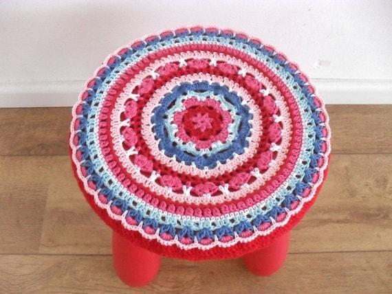 Ikea Mammut Stool Cover Crochet Pattern Bohemian Chair