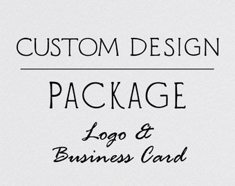 Custom Design Package | Logo and Business Card | Graphic Design