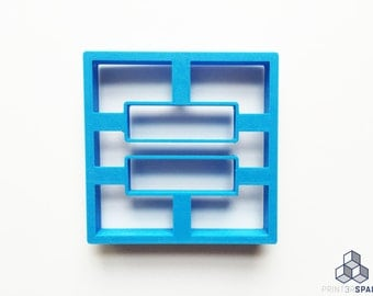 Equality Symbol Cookie Cutter