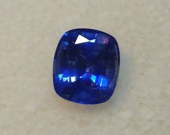 Natural Ceylon Sapphire Cushion Cut 1.55ct