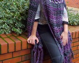 Crochet Light Poncho- Crochet Pattern