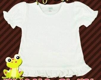 Upgrade Girls ruffle shirt.