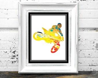 Bike Prints,#DirtBike,#Supercross,#Motorcross,#Arenacross,#Ride,#Offroad,#Dirt,#Garage,#Mancave,#PrintableArt, #Artwork,#GraphicArt,#Yellow