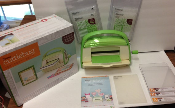 Cricut Cuttlebug Embossing Machine with 9 by HHeartfeltDesigns