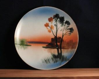 Handpainted Chikaramachi decorative Plate