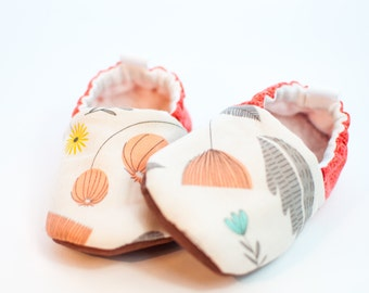 Baby Girl Shoes, Modern Baby, Baby Gift, Soft Soled Shoes, Shoes That Stay On, Stroller Shoes, Baby Shower Gift