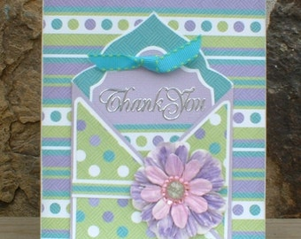 Thank You Gift Card Pocket Card