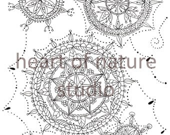 Mandala colouring page,mandala art,colouring therapy page,downloadable colouring page,downloadable art,mandala illustration