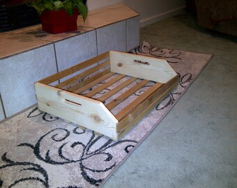 Apple Crate Dog Bed