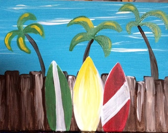 Buy this Original Surfboards Painting