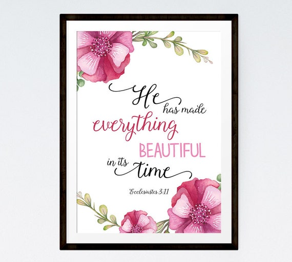 He has made everything beautiful ecclesiastes 3 11 bible - Download god is good all the time ...